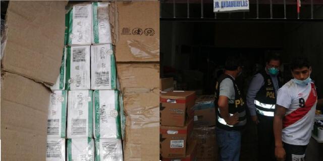 Ilegal cargamento iba a ser trasladado a Huánuco