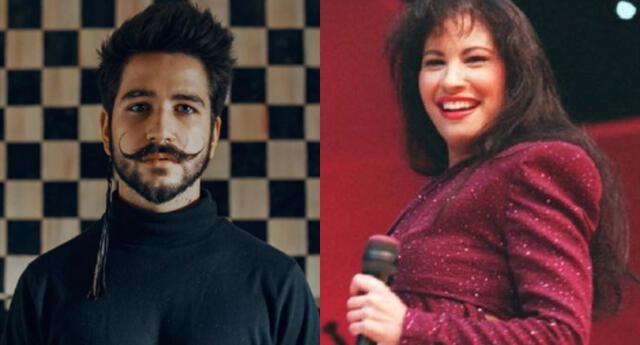 El cantante Camilo realizó una transmisión en vivo en Instagram y sorprendió al cantar uno de los éxitos más conocidos de Selena Quintanilla.