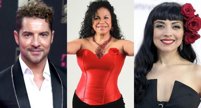 "La cantante Eva Ayllón aseguró que solo está esperando que ""le pasen la voz"" para poder grabar temas junto a David Bisbal y Mon Laferte."