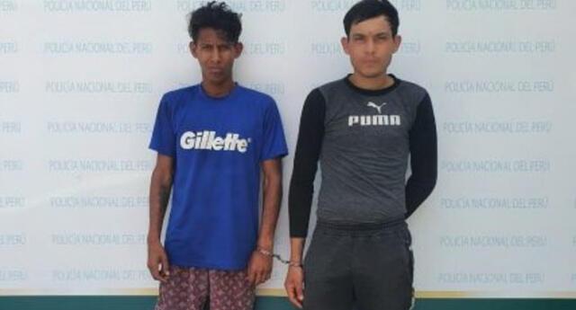 Condenan a los venezolanos Andrés Eloy Zea Rodríguez y Francisco Javier Ortiz Gutiérrez por dedicarse a robar en San Juan de Miraflores