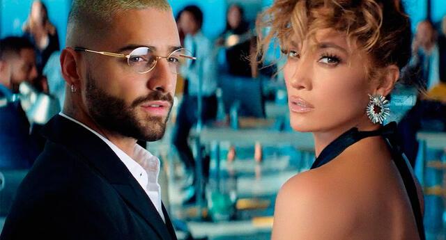 Jennifer López y Maluma retrasan estreno de su película.