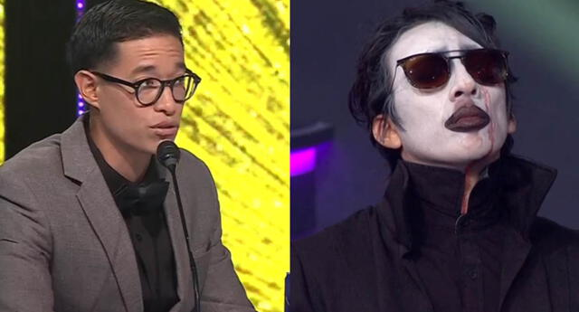 Tony Succar a imitador de Marilyn Manson: