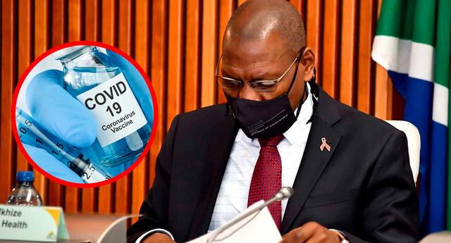 """El ministro de Salud sudafricano Zweli Mkhize señaló que la inmunización será """"continuada con la vacuna Johnson & Johnson en lugar de la de AstraZeneca""""."""