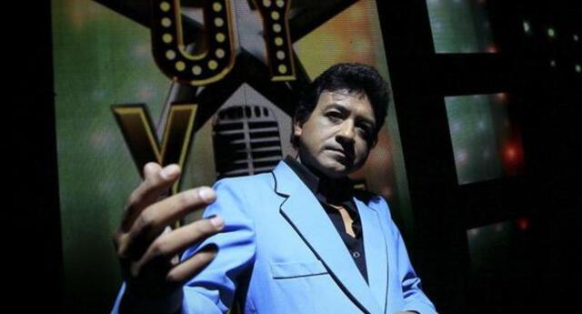 Carlos Burga celebra su cunmpleaños en los escenarios de 'Yo Soy'.