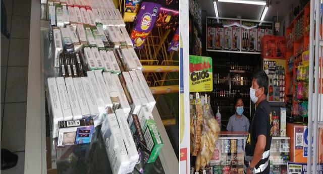 Cigarrillos carecían de documentación de ilegal ingreso al país