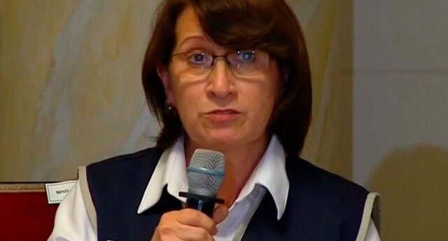 Pilar Mazzetti confirma que se vacunó con la dosis de la farmacéutica Sinopharm