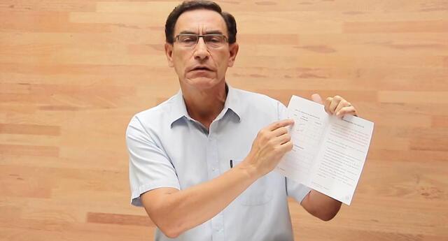 Martín Vizcarra confirma que su familia recibió la vacuna Sinopharm