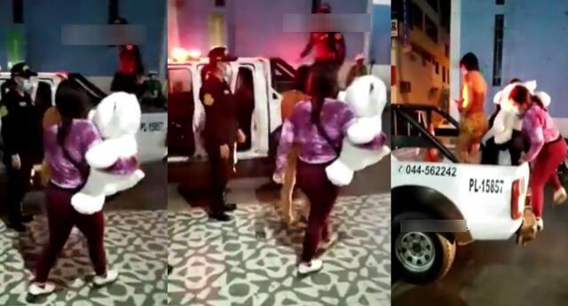 Peculiar video en San Valentín se viralizó en las redes sociales.
