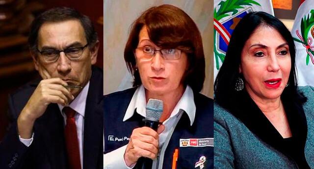 denuncia constitucional contra Vizcarra, Mazzetti y Astete