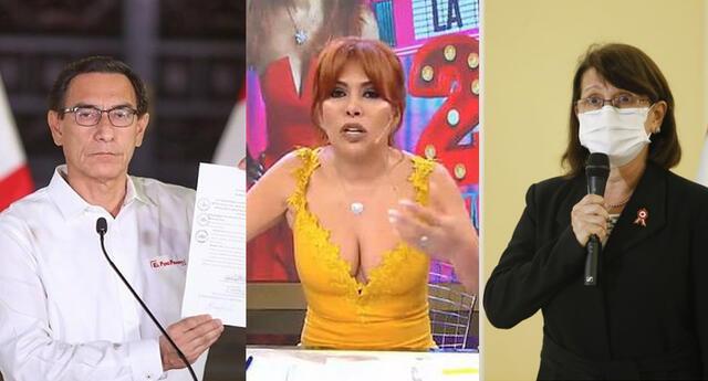 Magaly Medina indignada por vacunación de Martín Vizcarra y Pilar Mazzetti.