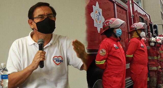Martín Vizcarra aparece en lista de bomberos de Moquegua para ser vacunado.
