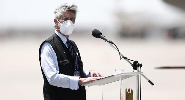 Presidente Francisco Sagasti se pronunció tras escándalo de vacunas de Sinopharm.