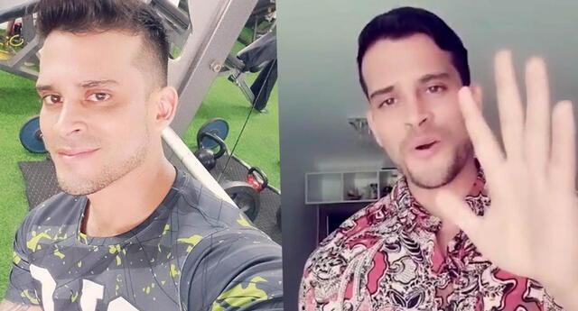 Christian Domínguez asegura que no recuerda nada antes del 31 de octubre del 2019.
