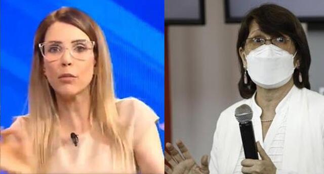 Juliana Oxenford se molestó con Pilar Mazzetti por mentir sobre vacunación.