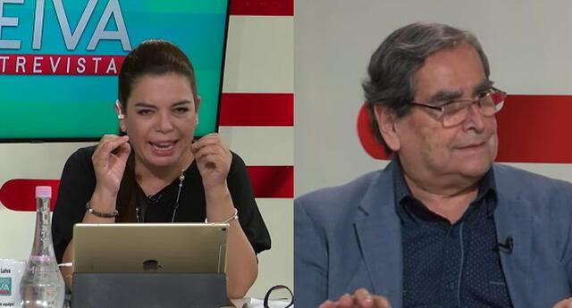 Milagros Leiva pierde los papeles al enterarse que Pilar Mazzetti se vacunó.