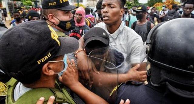 Migrantes contagiados con COVID-19 en Madre de Dios.