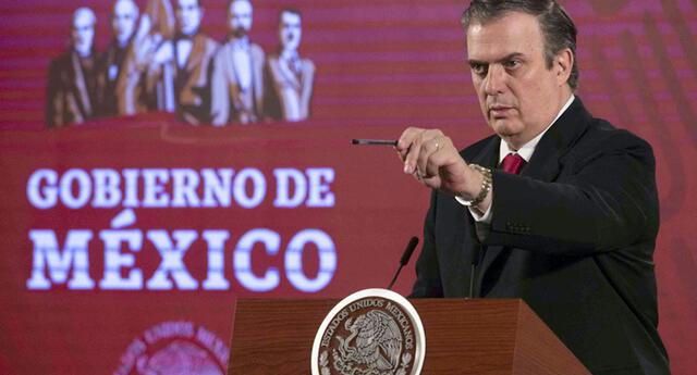 """""""Lo vamos a plantear porque no es justo"""", dijo el titular de la Secretaría de Relaciones Exteriores (SRE) durante la conferencia matutina de este martes."""