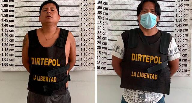 la denuncia fue realizada por un empresario de 57 años, quien manifestó que los sujetos lo venían extorsionando para no atentar contra su vida y la de su familia.