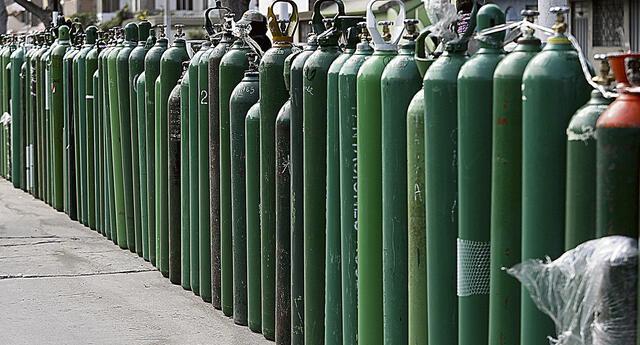 Diversos hospitales del país informaron que no cuentan con oxígeno medicinal.