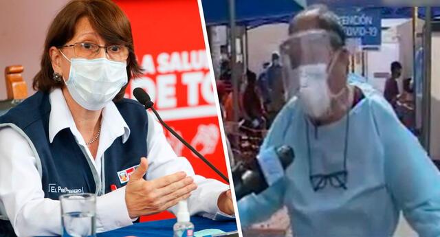 Médico criticó que en el establecimiento de salud donde laboran aún se mantenga la incertidumbre de cuándo serán inmunizados contra el coronavirus.