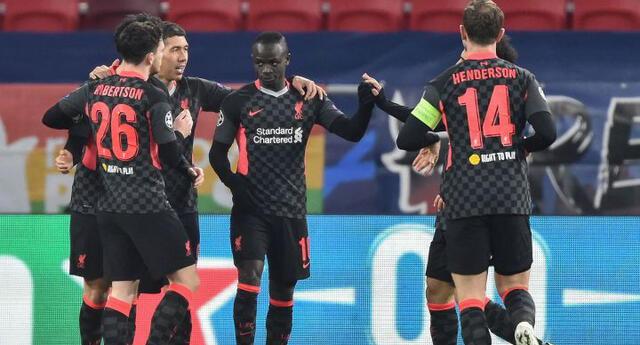 Liverpool alcanzó una buena victoria ante el Leipzig en los octavos de la Champions.
