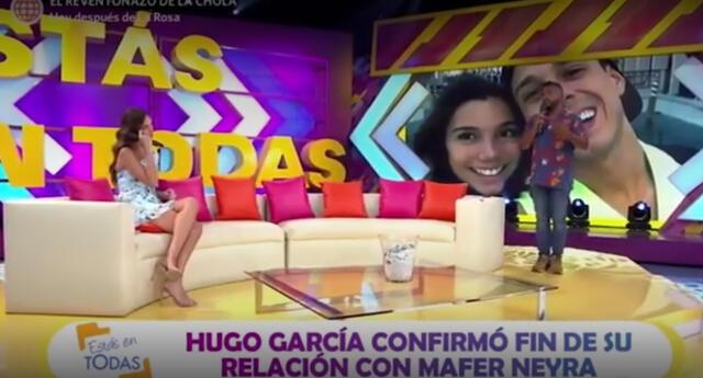 Choca y Natalie Vértiz opinan sobre fin de la relación de Hugo García y Mafer Neyra