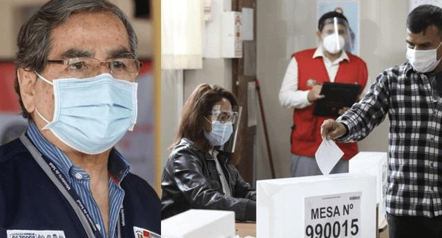 Miembros de mesa serán prioridad en la vacunación contra la COVID-19, afirma ministro Ugarte.