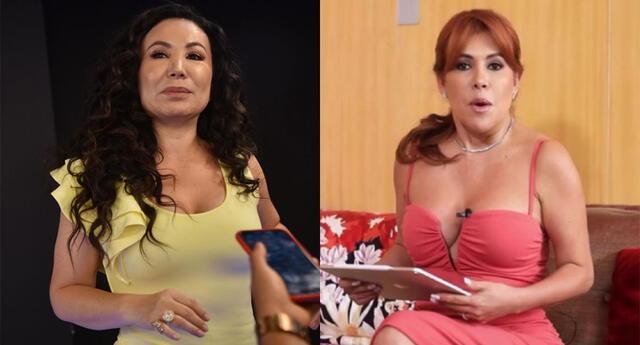 """Janet Barboza sobre Magaly Medina: """"Nunca me he llevado con ella"""""""