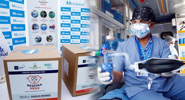 Estos dispositivos clínicos permiten atender a pacientes de covid-19 que requieren respiración asistida en una cama hospitalaria simple.
