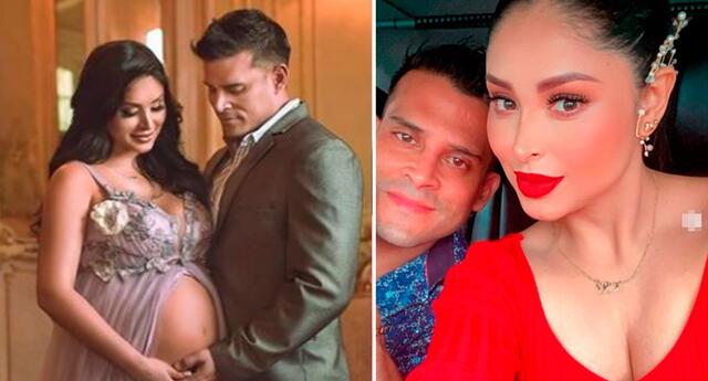 Pamela Franco y Christian Domínguez esperan con ansias la llegada de su bebé.