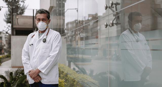 Luis Vivanco abogado del médico Germán Málaga cuestiona detención preliminar por siete días solicitado por la Procuraduría Anticorrupción