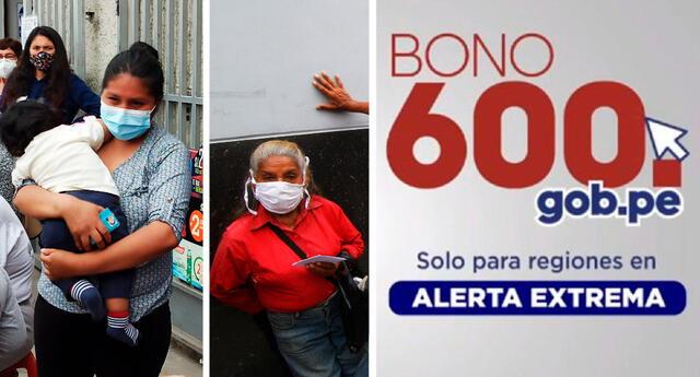 Consultas de programas sociales sobre el bono 600