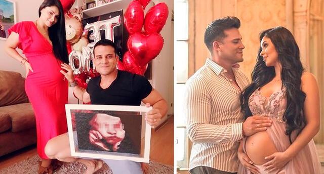 Pamela Franco y Christian Domínguez listos para el nacimiento de su hija.