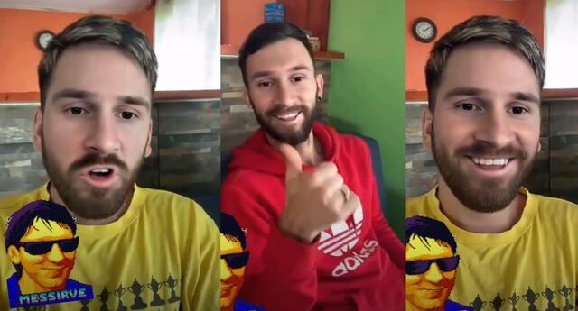 TikTok de Lionel Messi se hizo viral en las redes sociales.