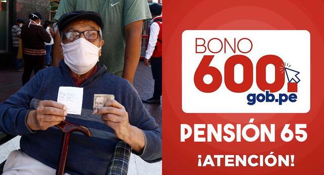 Conoce aquí si ya te hicieron el depósito del bono 600 si perteneces al programa Pensión 65
