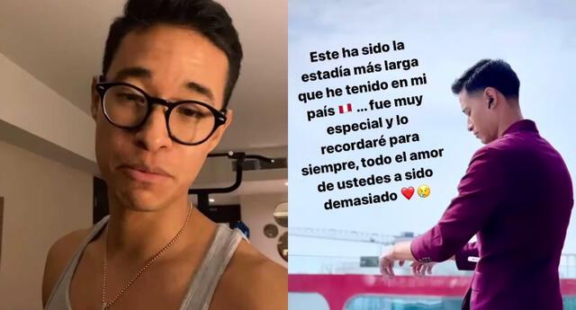 Tony Succar compartió en Instagram que ya empezó a empacar sus cosas para su retorno a EE.UU., y agradeció a sus fans por el cariño.