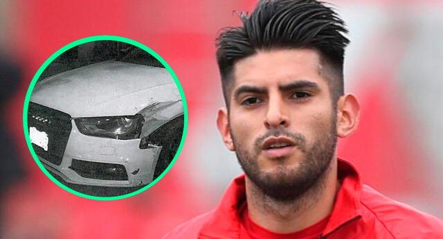 A unos 400 metros del lugar del accidente, de la Policía de la ciudad encontró el carro de Carlos Zambrano, un Audi A4 blanco
