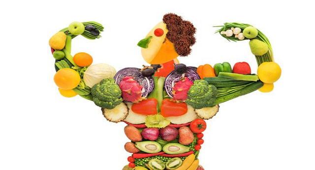 Una buena alimentación es la base de todo.