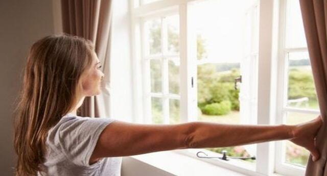 Ventila tu casa, abre las ventanas en horas de la mañana.