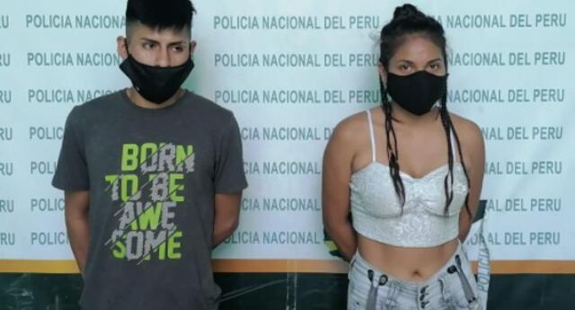 Pareja fue detenida