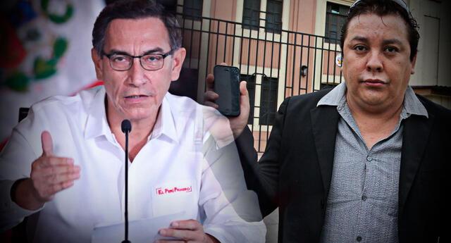 Martín Vizcarra negó que