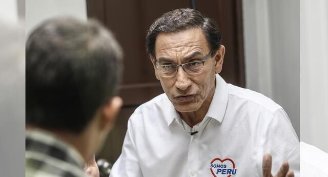 Martín VIzcarra por caso Vacunagate.
