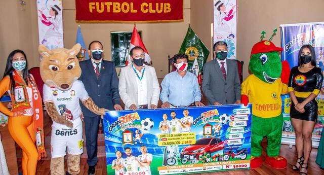 Ayacucho lanzó Rifa Solidaria para campaña del 2021