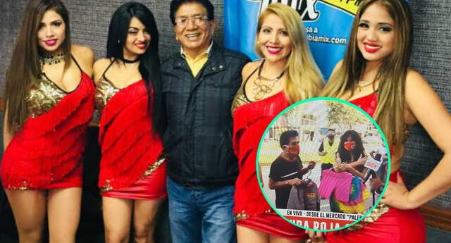 Los integrantes de Pintura Roja debutaron en el rubro textil para poder solventarse a falta de conciertos por la llegada del coronavirus