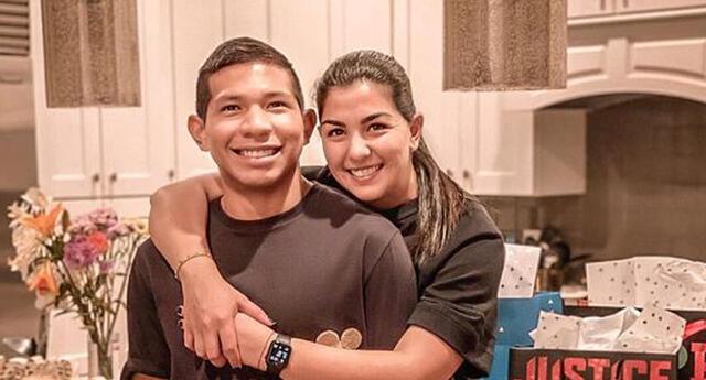 Se revela sexo del bebé de Ana Siucho y Edison Flores.