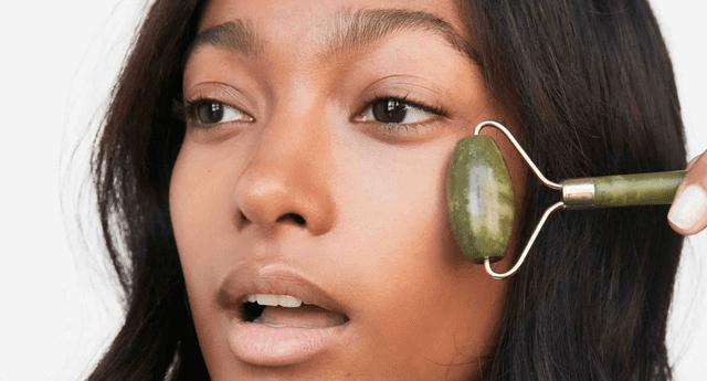 Estos rodillos ayudarán a que tu piel luzca menos hinchada.