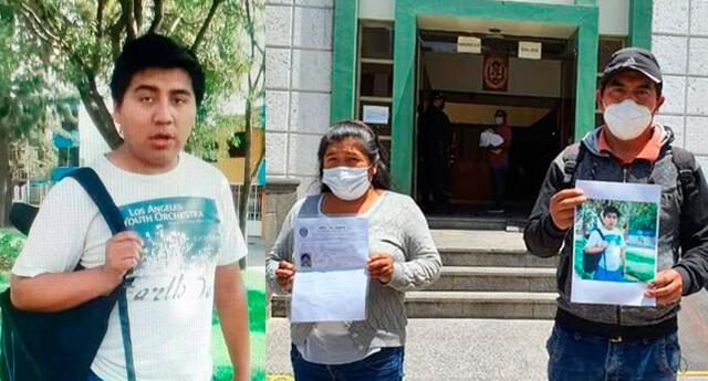 Alexander Márquez desapareció en Arequipa en diciembre del 2020