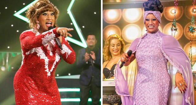Imitador de Celia Cruz perdió batalla por haber estado mal de salud.