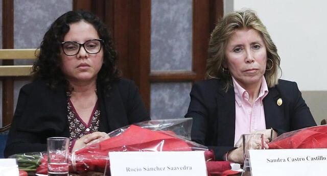 Fiscales Rocío Sánchez y Sandra Castro fueron separadas del caso Los Cuellos Blancos del Puerto.