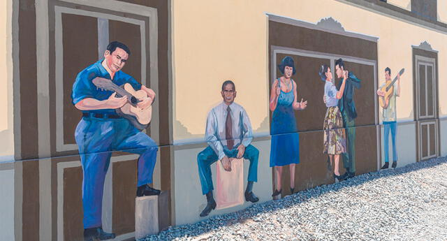El barrio de Monserrate se volvió más colorido.